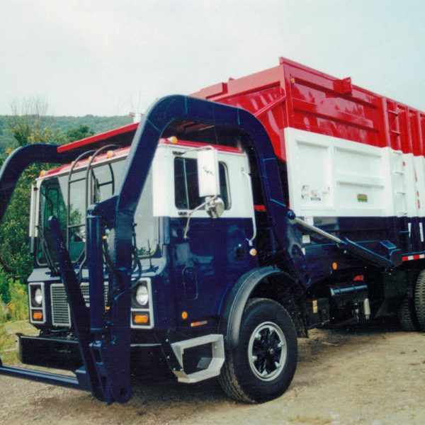 Scanned truck photo