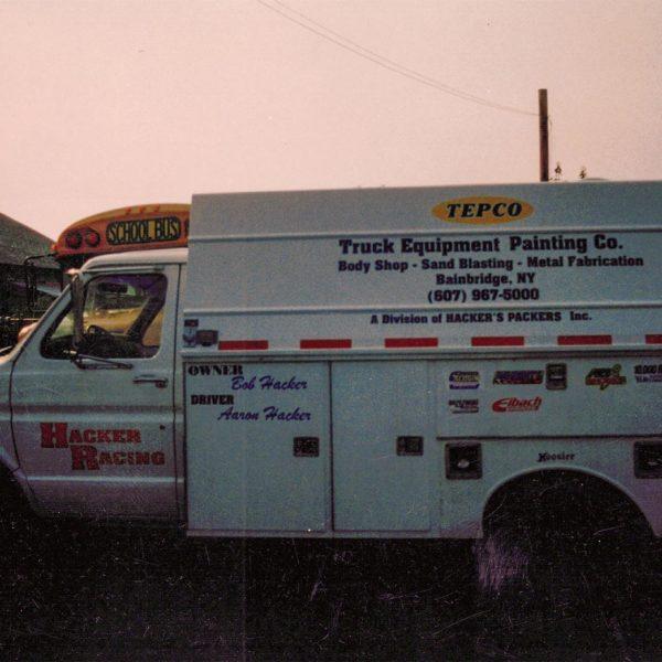 TEPCO truck